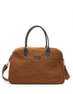 ESSENZA Pebbles Teddy Leather Brown Weekendtasche One Size