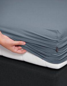 ESSENZA Premium Jersey Denim Spannbettlaken 90-100 x 200-220 cm