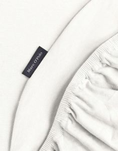 Marc O'Polo Premium Organic Jersey Ecru Spannbettlaken 180-200 x 200-220 cm