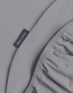 Marc O'Polo Premium Organic Jersey Grau Spannbettlaken 180-200 x 200-220 cm