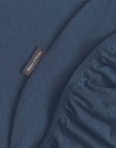 Marc O'Polo Premium Organic Jersey Navy Spannbettlaken 180-200 x 200-220 cm