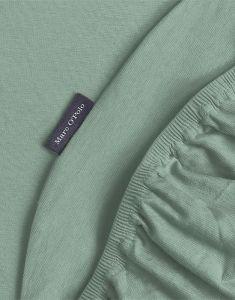 Marc O'Polo Premium Organic Jersey Soft Green Spannbettlaken 90-100 x 200-220 cm