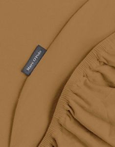 Marc O'Polo Premium Organic Jersey Warm Pecan Spannbettlaken 90-100 x 200-220 cm