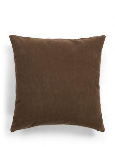 ESSENZA Riv Chocolate Dekokissen 45 x 45 cm