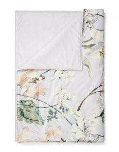ESSENZA Rosalee Grey Plaid 135 x 170 cm