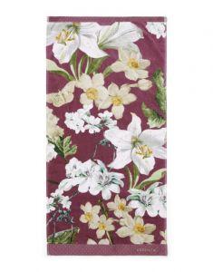 ESSENZA Rosalee Plum Handtuch 55 x 100 cm