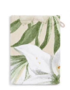 ESSENZA Rosalee Natural Waschhandschuhe 16 x 22 cm