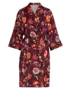ESSENZA Sarai Scarlett Warm Red Kimono L