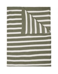 Marc O'Polo Structure knit Garden Green Tagesdecke 130 x 170 cm