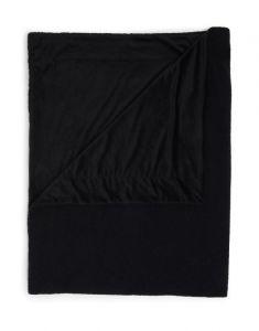 ESSENZA Teddy Nightblue Plaid 150 x 200 cm
