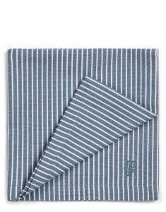 Marc O'Polo Tentstra Smoke Blue Serviette 45 x 45 cm