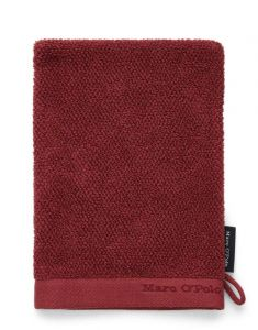 Marc O'Polo Timeless Uni Warm Red Waschhandschuhe 16 x 22 cm