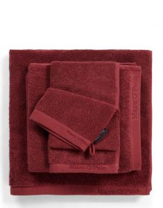 Marc O'Polo Timeless Uni Handtuch Set Warm Red