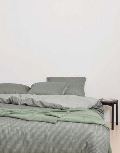Marc O'Polo Toloma Grün Kissenbezug 40 x 80 cm