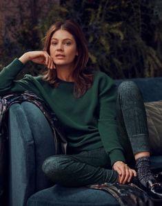 ESSENZA Uma Uni Thyme Sweater L