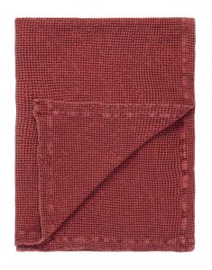 Marc O'Polo Viron Soft Red Plaid 130 x 170 cm