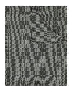 Marc O'Polo Zil Grün Plaid 130 x 170 cm