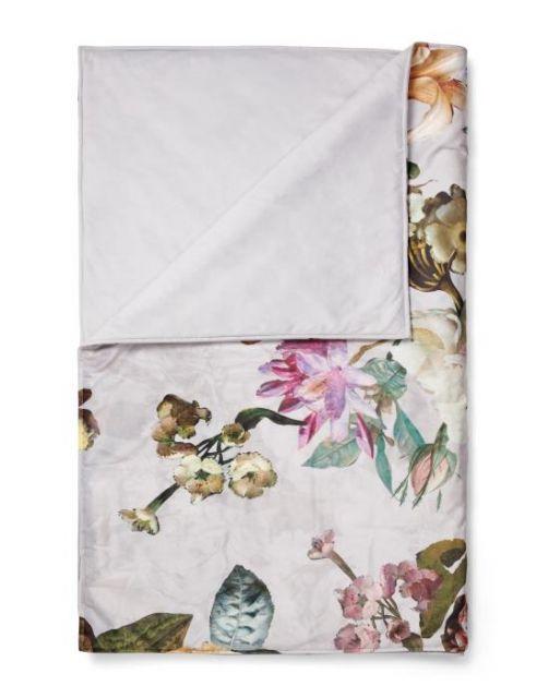 ESSENZA Fleur Grau Tagesdecke 180 x 265 cm