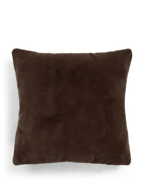 ESSENZA Furry Chocolate Dekokissen 50 x 50 cm