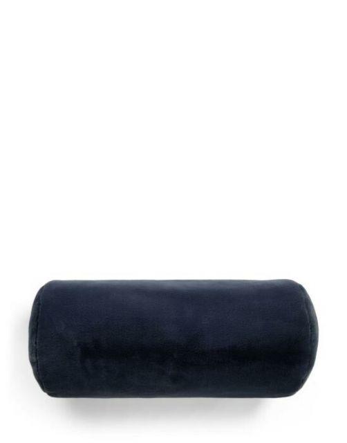 ESSENZA Furry Nightblue Nackenrolle 22 x 50 cm