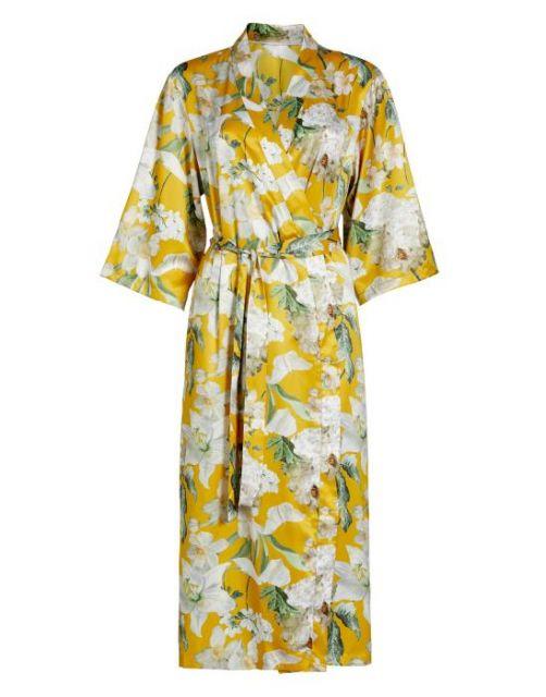 ESSENZA Ilona Rosalee Gelb Kimono XS