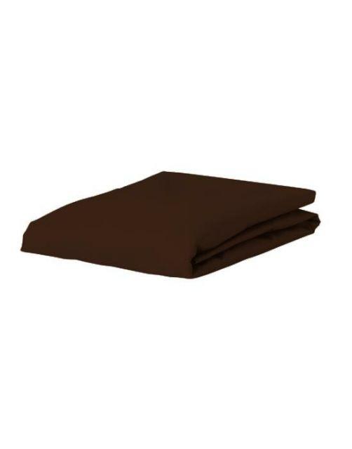 ESSENZA Premium Jersey Chocolate Spannbettlaken 140-160 x 200-220 cm