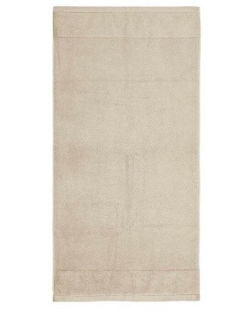 Marc O'Polo Timeless Uni Beige Handtuch 50 x 100 cm
