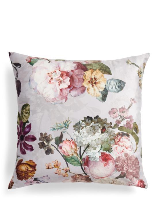 ESSENZA Fleur Blumen Pfingstrosen Tulpen Dekokissen  50x50   Heimtextilien > Decken und Kissen > Kissen   ESSENZA