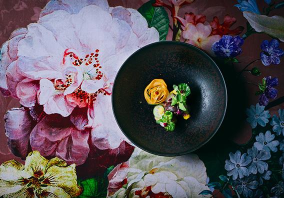 Unser Blumenmuster als Inspiration für dieses besondere Gericht