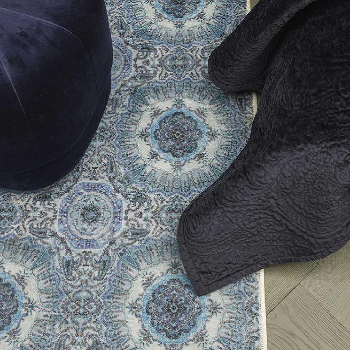 ESSENZA Cadiz Karpet blauw