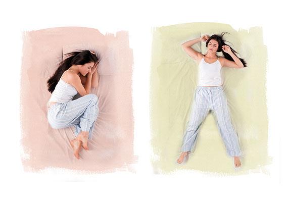 Blog post Was sagt Ihre Schlafposition über Sie aus?