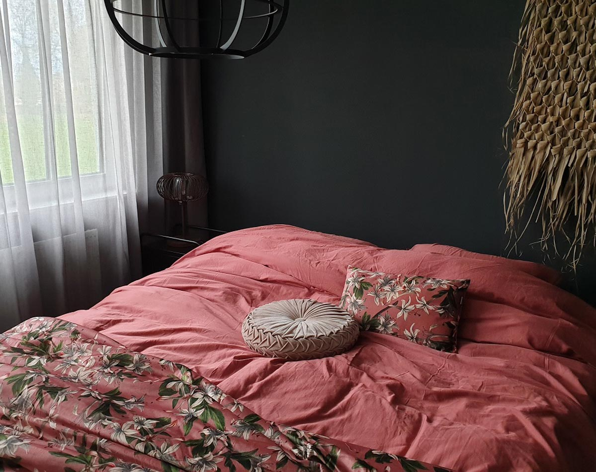 Interieurbloggerin Huizedop stylt mit Dusty Rose
