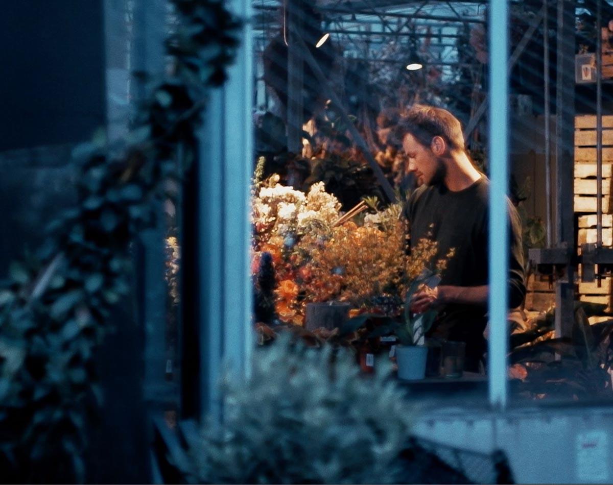 Alexander Posthuma, der Blumenkünstler