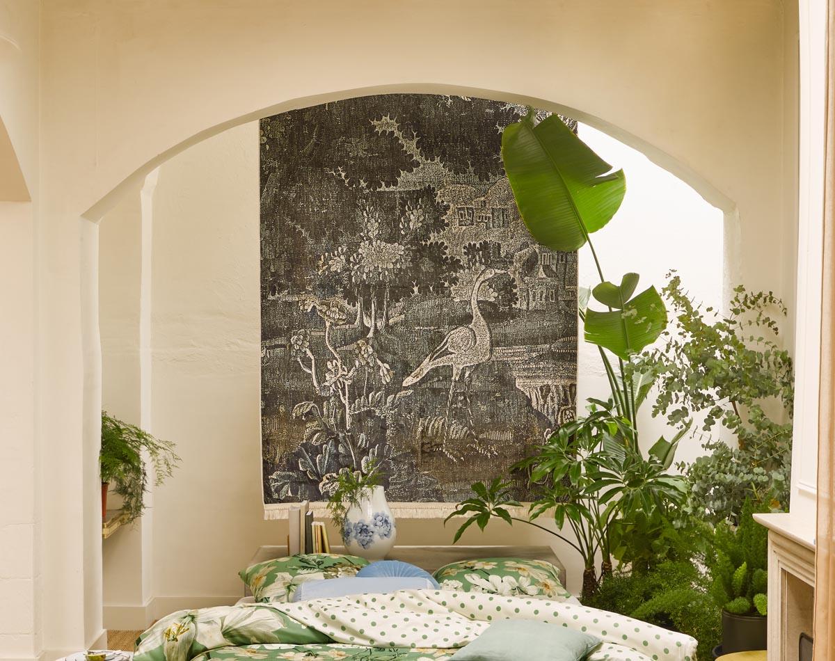 Teppich, Teppich an der Wand...