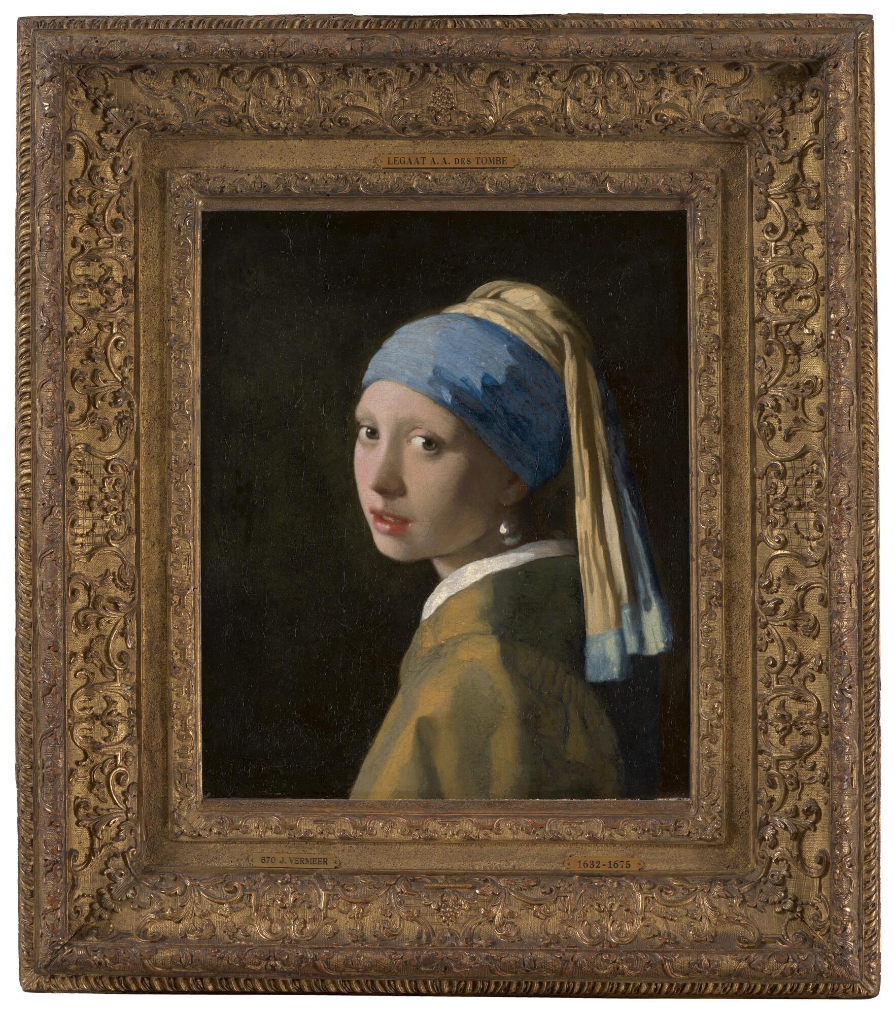 Das MädchenmitdemPerlenohrring-Johannes Vermeer,um1665