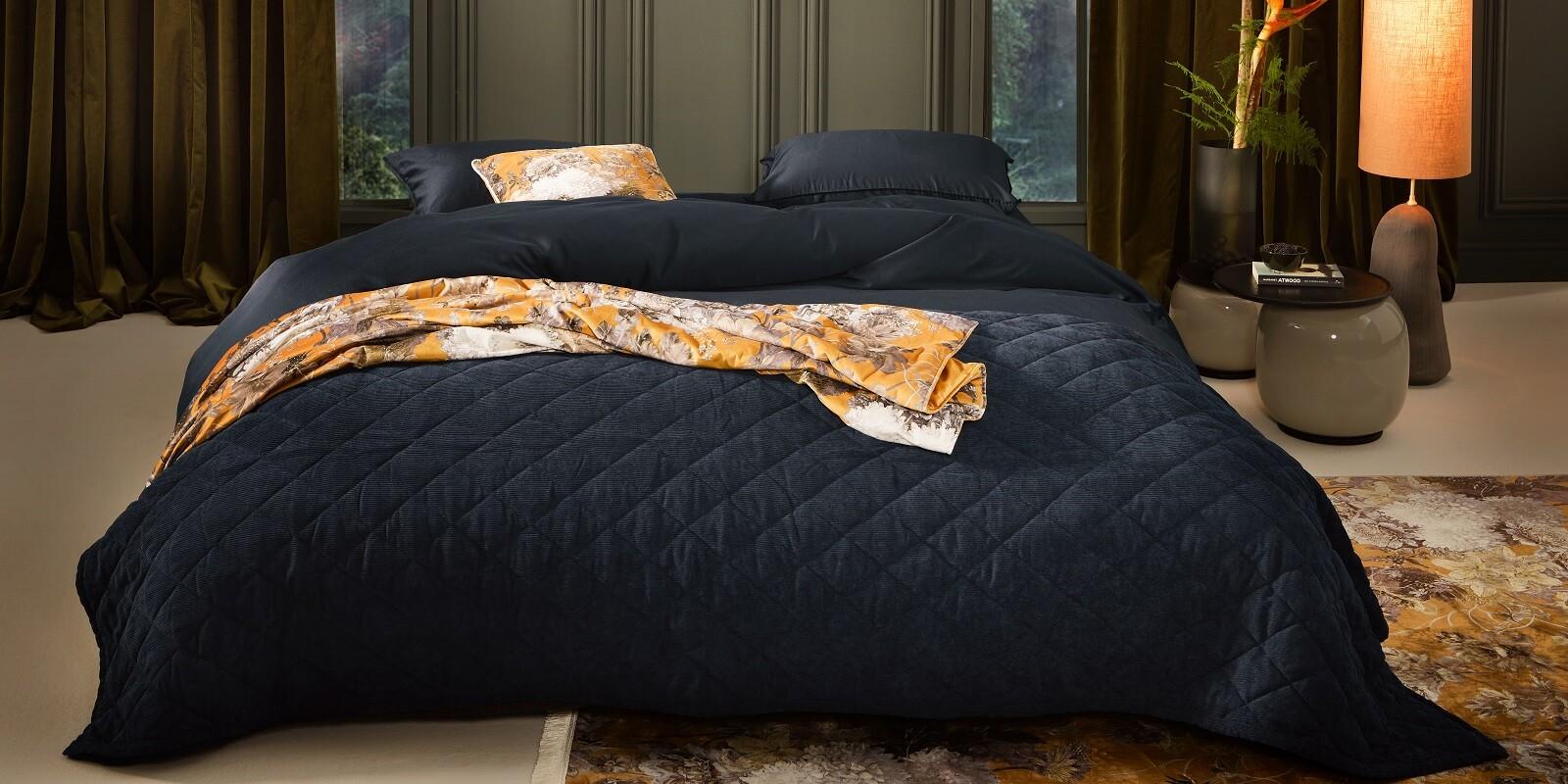 ESSENZA Minte Nightblue Bettwäsche 135 x 200 cm