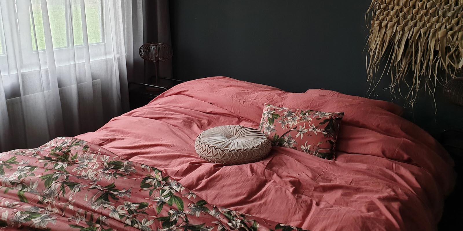 ESSENZA Minte Dusty Rose Bettwäsche 135 x 200 cm