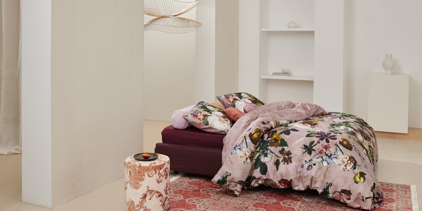 ESSENZA Fleur Woodrose Bettwäsche 135 x 200 cm