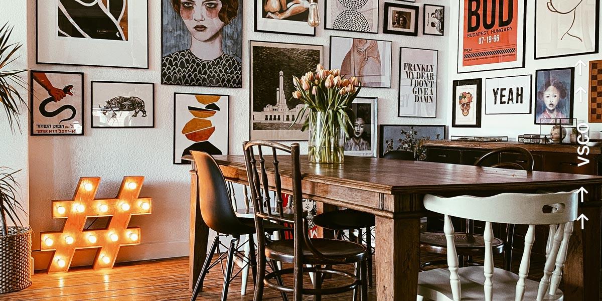 Wir werfen einen Blick in das eklektische Interieur von Andrea de Groot