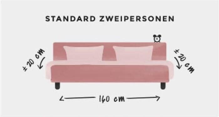 Standard Zweipersonen Bett